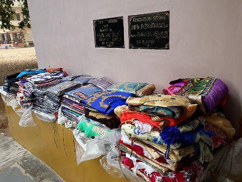 Kinderhilfe-Bapatla  Kleidung für Projekt-Kinder
